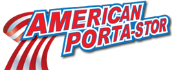 American Porta-Stor gives you the convenience of having storage units where you need it, when you need it! American Porta-Stor has 2 storage building sizes